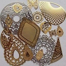 estamparia em metal bijuterias